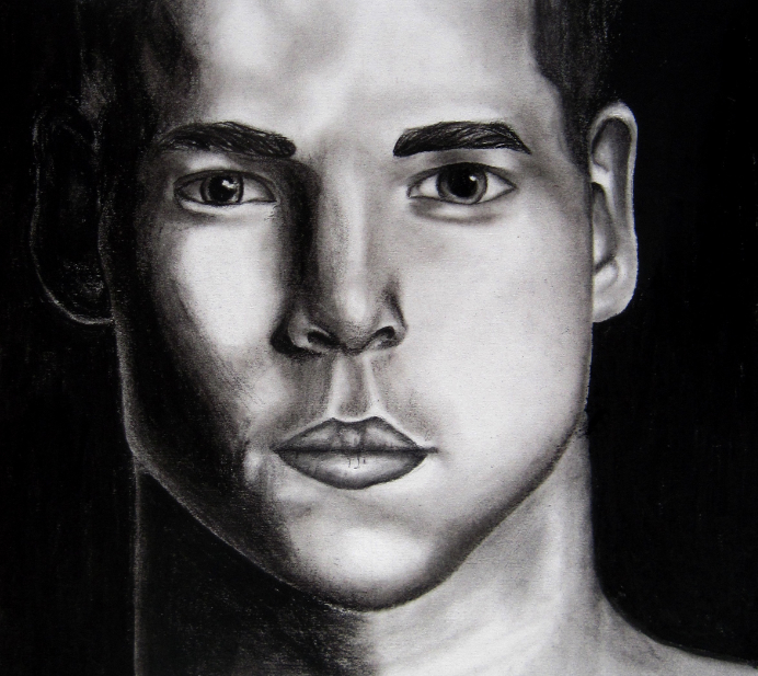 Chris in charcoal